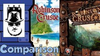 Robinson Crusoe Comparison - with Tom Vasel