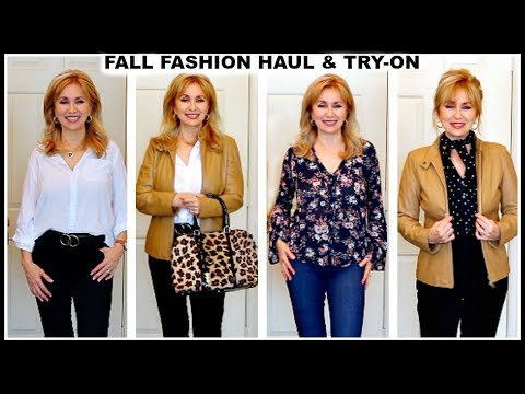 [VIDEO] - FALL FASHION HAUL & TRY-ON | OUTFIT IDEAS | LUXE FOR LESS | MATURE WOMEN 1