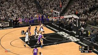 NBA 2K13 : Gaming Live Playoffs - Lakers vs Spurs (HD)