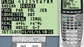 Radian vs Degree Mode on your TI-84 Graphing Calculator - tiskills.com