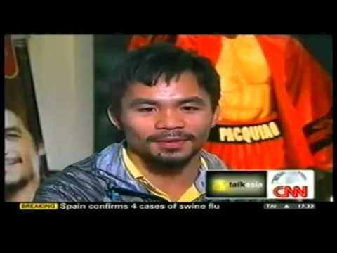CNN's Talk Asia - Manny Pacquiao   Part-1