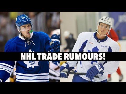 NHL Trade Rumours! JVR? Bozak? Theodore?