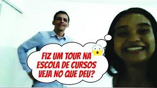 FIZ UM TOUR PELA ESCOLA DE CURSOS/VEJA NO QUE DEU??