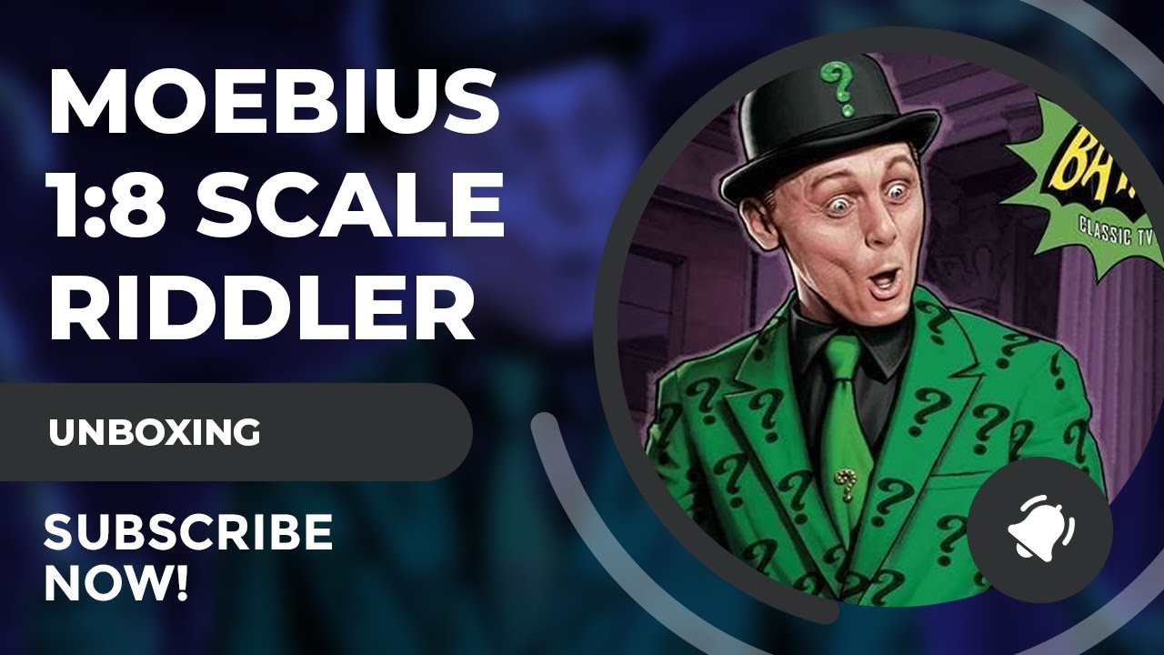 Moebius Models 1:8 Scale The Riddler Review