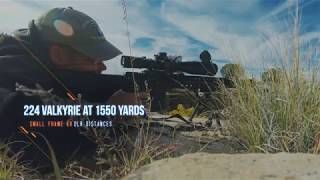 Sniper's Hide Shoots The 224 Valkyrie To 1550 Yards