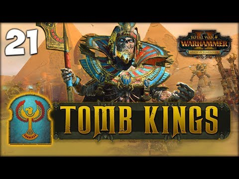 LIBRARIAN AND SLAYER! Total War: Warhammer 2 - Tomb Kings Campaign - Settra #21