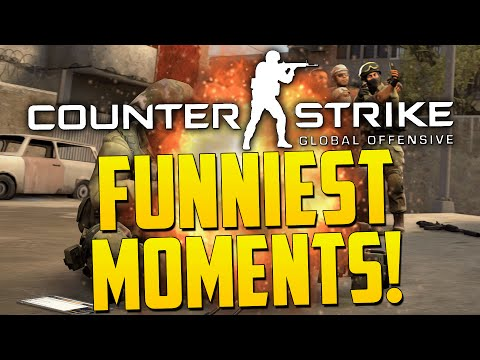 FUNNIEST CSGO MOMENTS! - By ChaBoyyHD