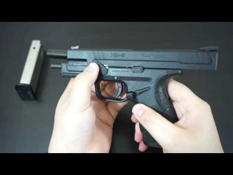 How to: Field Strip Your Springfield XD-9 Mod 2