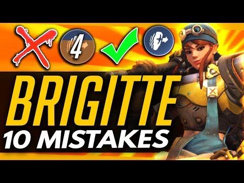 Download Youtube: Overwatch | 10 BIGGEST MISTAKES BRIGITTE PLAYERS MAKE!