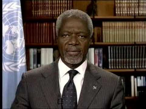 Kofi Annan Farewell