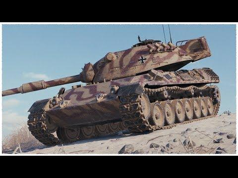 Танкосмотр2019 #16. Германия. Средние Танки. (ветка Leopard 1) | World Of Tanks