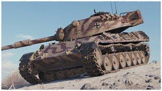 Танкосмотр2019 #16. Германия. Средние Танки. (ветка Leopard 1)   World of Tanks