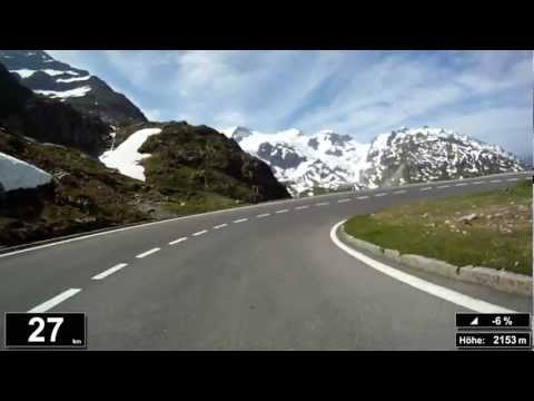 Indoor Cycling Training: Sustenpass / Suisse (now in full length: https://youtu.be/f7KL1KjJOW8)