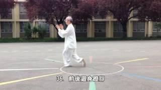 64式太極拳正向慢動作-3 (2014.05.17) 64 Movement Tai Chi Slow moving -3 (Front View)