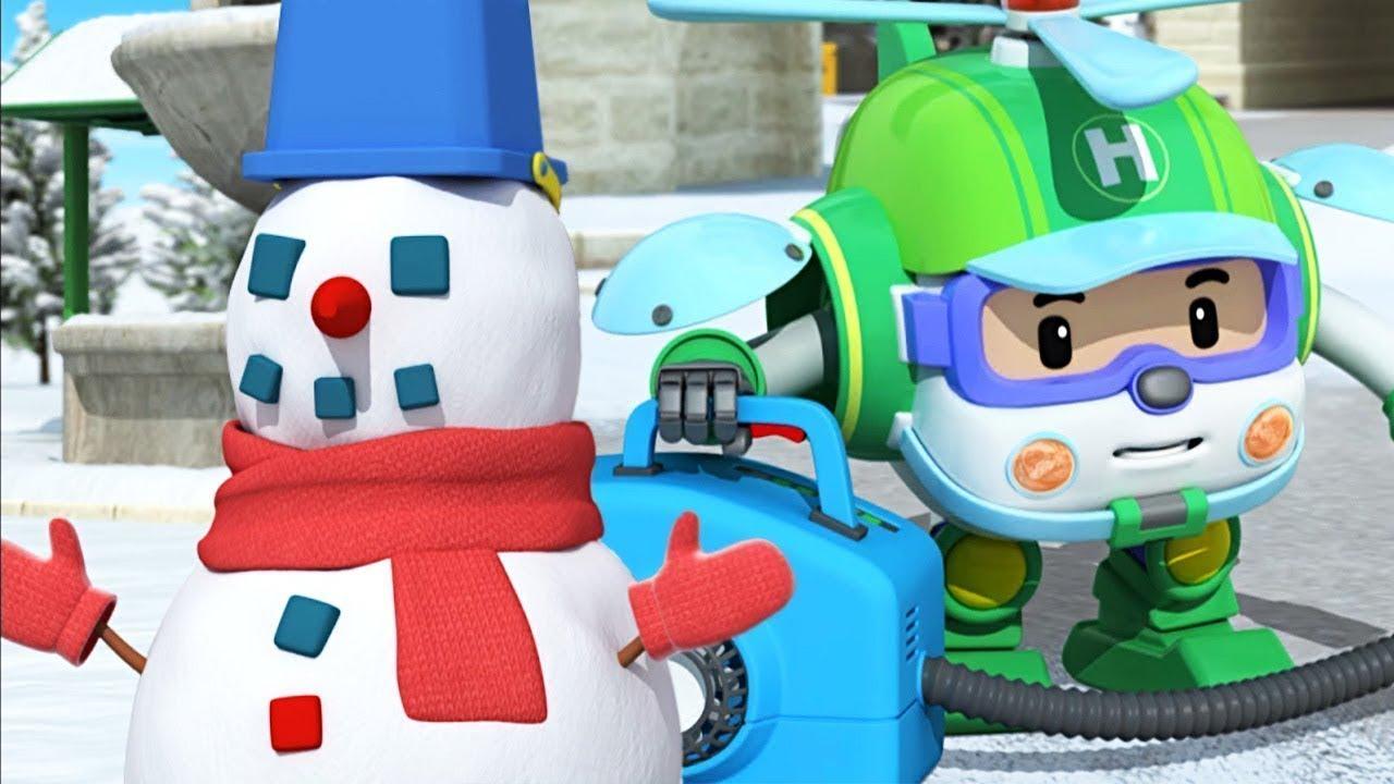 Çizgi film Robocar Poli ve kurtarma ekibi. Seçkin bölümler!