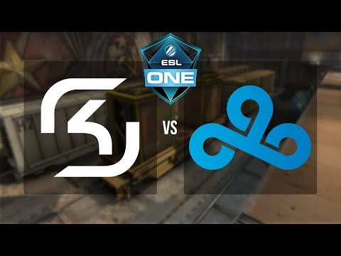 ESL One New York 2017 - SK Gaming vs. Cloud 9 (Train) - Narração PT-BR