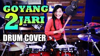 Sandrina Goyang 2 Jari Drum Cover by Nur Amira Syahira MP3