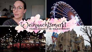 Weihnachtsmarkt in Maastricht |Holland |Kurztripp |VLOG |Kathis Daily Life