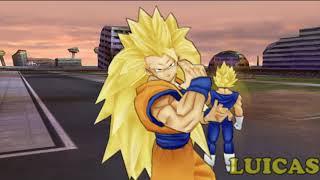 Dragon Ball Z Tenkaichi Tag Team PSP Gameplay HD Goku y Vegeta Batalla 100 Parte 10
