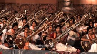 Brahm Naad - Mass Sitar recital in Delhi