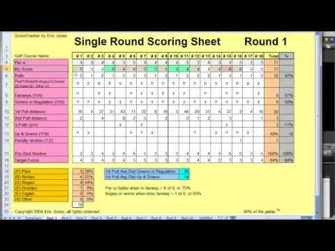 How To Use Scorecard Stats To Improve Your Golf Game - YouTube