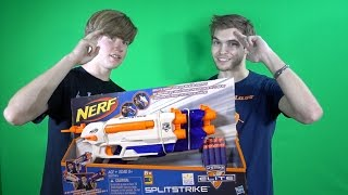 Nerf N-Strike Elite Split Strike Unboxing and Review ft. ShiningFoam