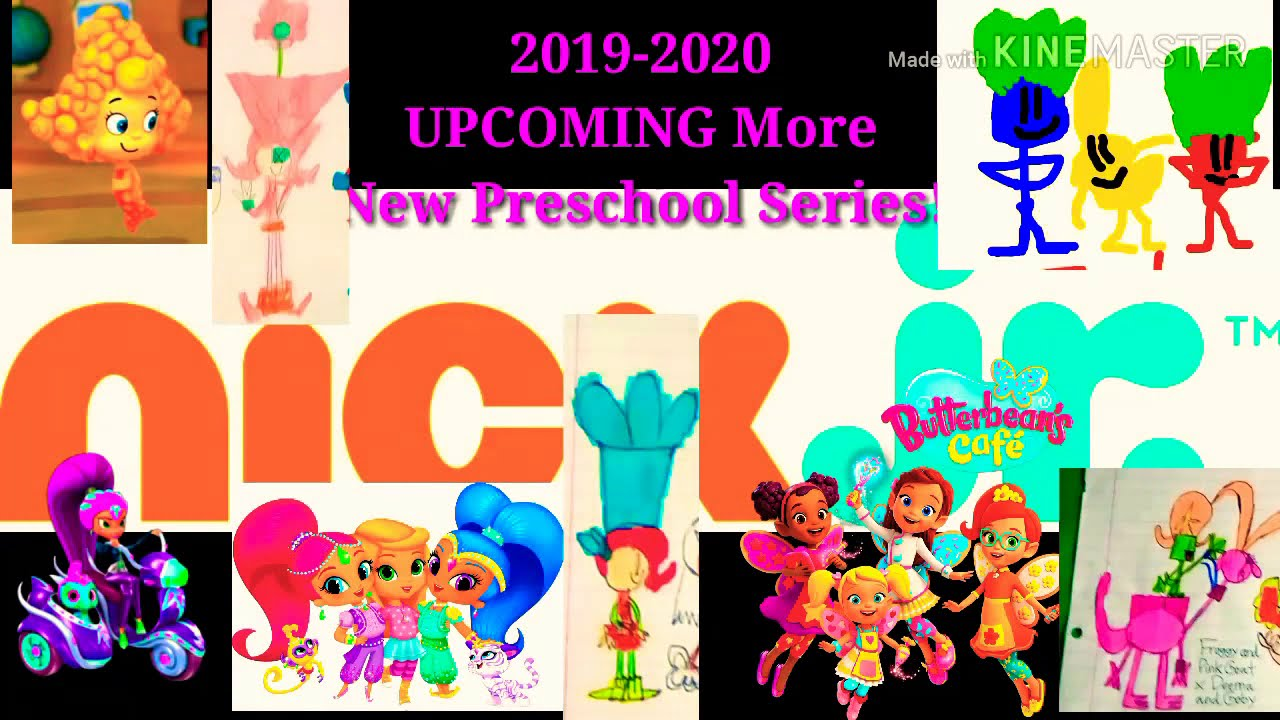 New Shows 2020 2019 2020 UPCOMING More New Nick Jr Shows   Zeta and Nazboo,Colin