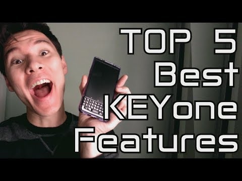 TOP 5 BEST BLACKBERRY KEYone BLACK EDITION FEATURES! (After 1 month of use)