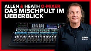 Allen & Heath Qu-Mixer - Das Mischpult im Überblick