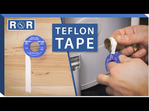 The Complete Guide To Teflon Tape | Repair And Replace