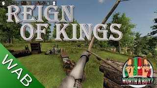 Reign of Kings Review Early Access - Worth a Buy? (Video Game Video Review)