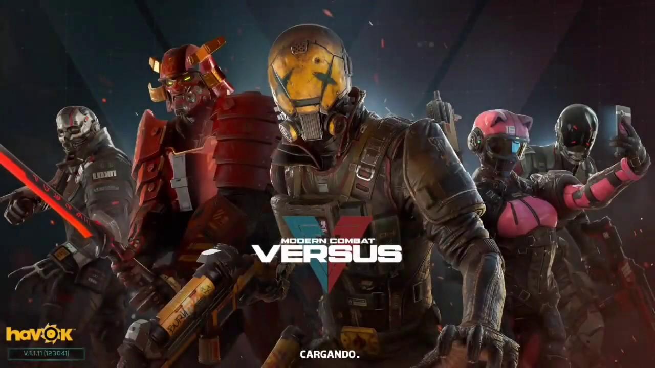 Download Modern Combat Versus: jugando desde el inicio 😎😎