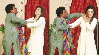 Nawaz Anjum and Naseem Vicky New Stage Drama 2019 Clip - Full Comedy Clip 2019