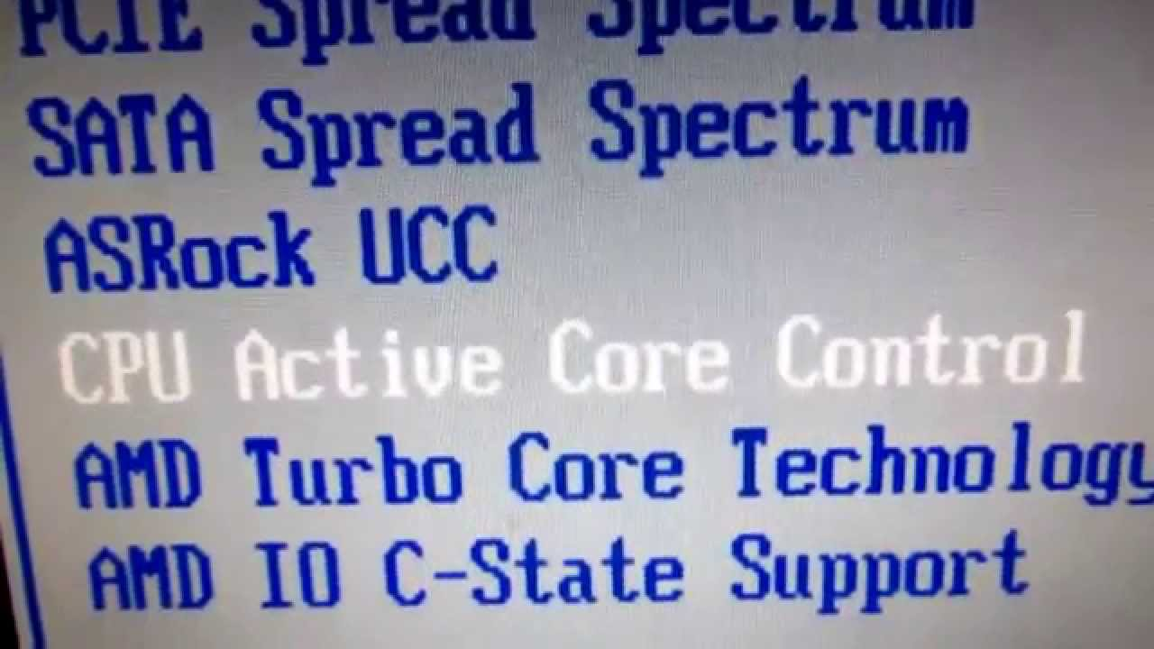 How to Enable/Disable CPU cores from BIOS (Asrock N68C-S UCC)