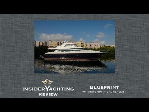 Motor Yacht Blueprint Review - 95' Viking Sport Cruiser Yacht