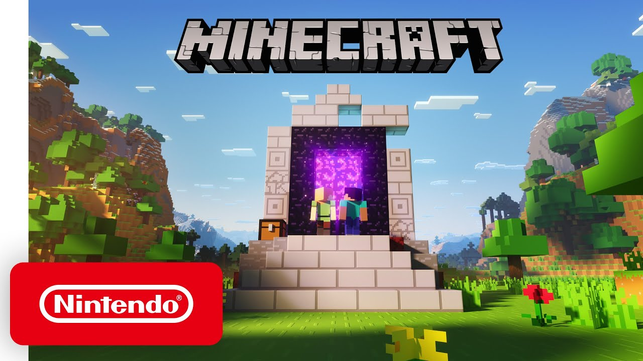 Minecraft Nether Update Trailer Nintendo Switch Youtube