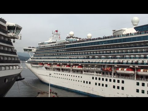 Vancouver, BC: Sunday May 12th Cruise Ship Departures