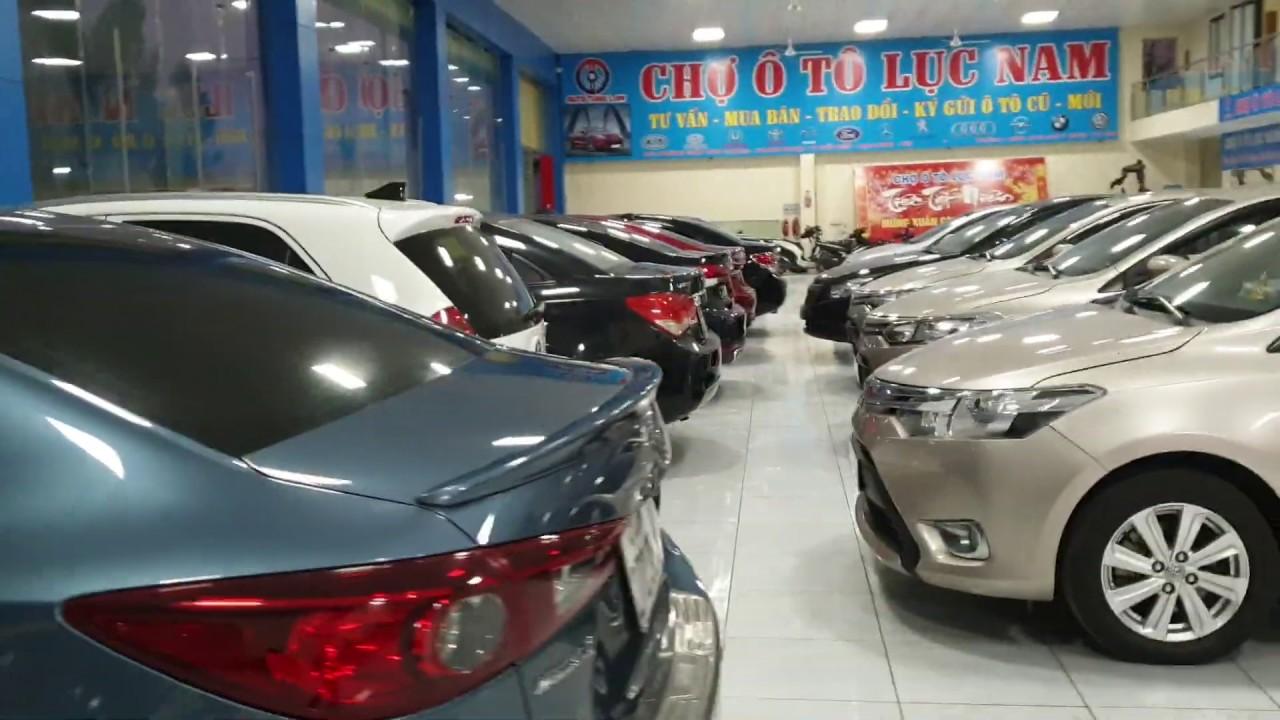 Báo giá xe ô tô cũ đang bán tại chợ ô tô Lục Nam, ngày 14-3-2020