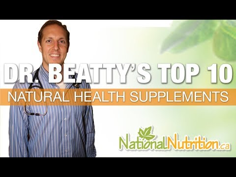 Dr Oz Top 14 Natural Supplements Of 2014 National Nutrition