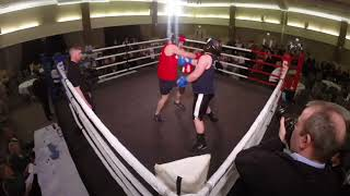 Ultra White Collar Boxing | Belfast | Stuart armstrong VS Jack Healy