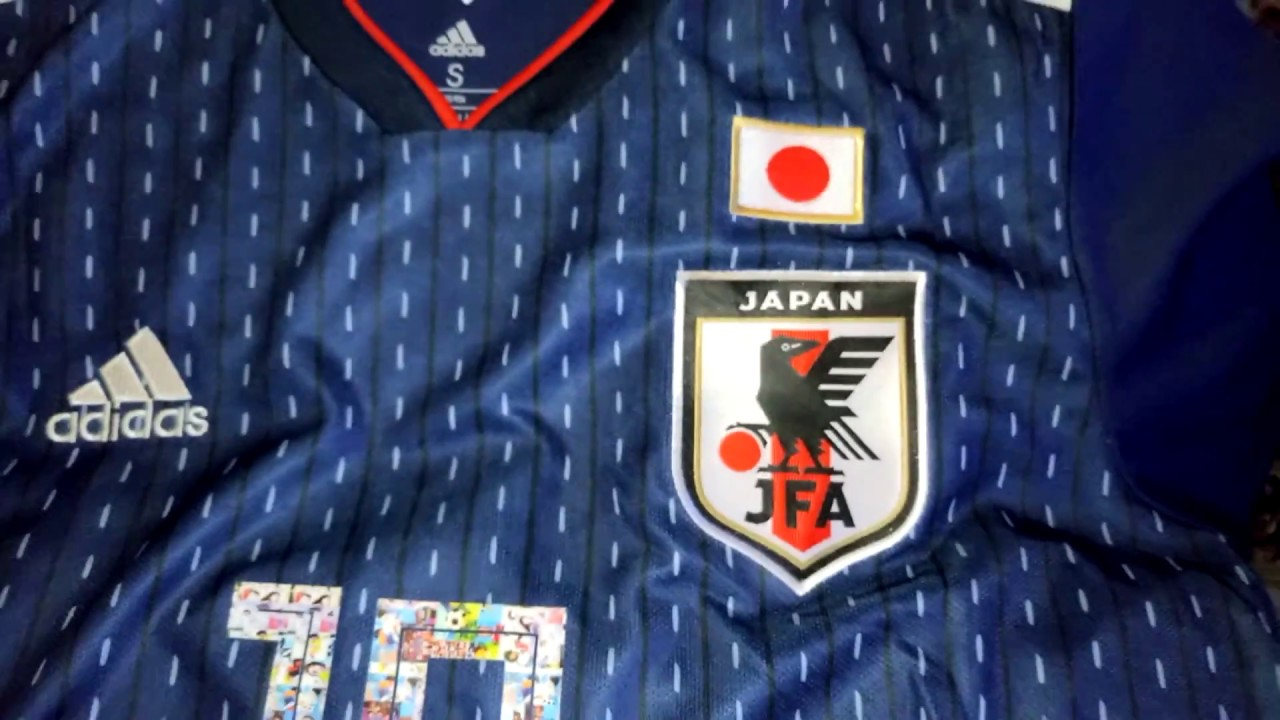 new styles efbe7 d8e95 CAPTAIN TSUBASA - JAPAN JERSEY FIFA WORLD CUP RUSSIA 2018 (SUPER CAMPEONES)