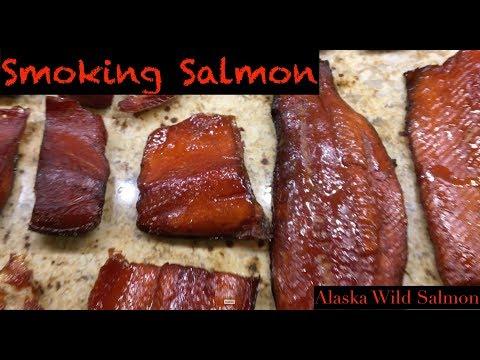 Alaska: Smoking Salmon