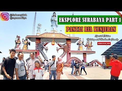 pantai-ria-kenjeran-kenpark---eksplore-surabaya-part-1-||-special-edition-with-husband's-family