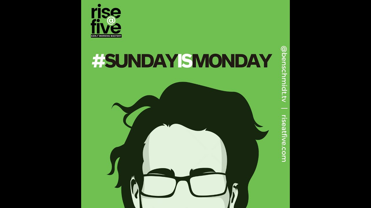 why Sunday is now the NEW Monday!