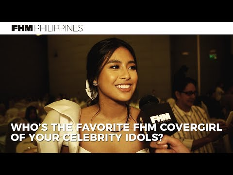 Who's The Favorite FHM Cover Girl Of Your Celebrity Idols?