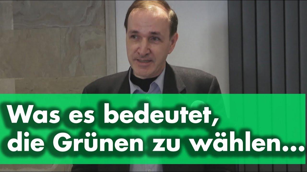 Entzauberung der Grünen - Dr. Gottfried Curio