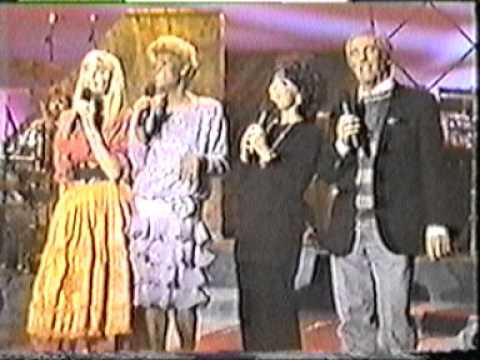 Dionne Warwick, Oliva Newton-John, Burt Bacharach, Carole Bayer Sager