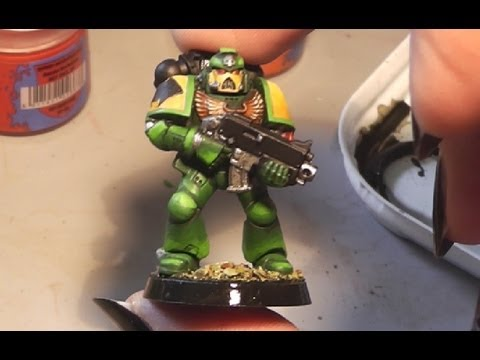 Paint it - Mantis Warriors Space Marine