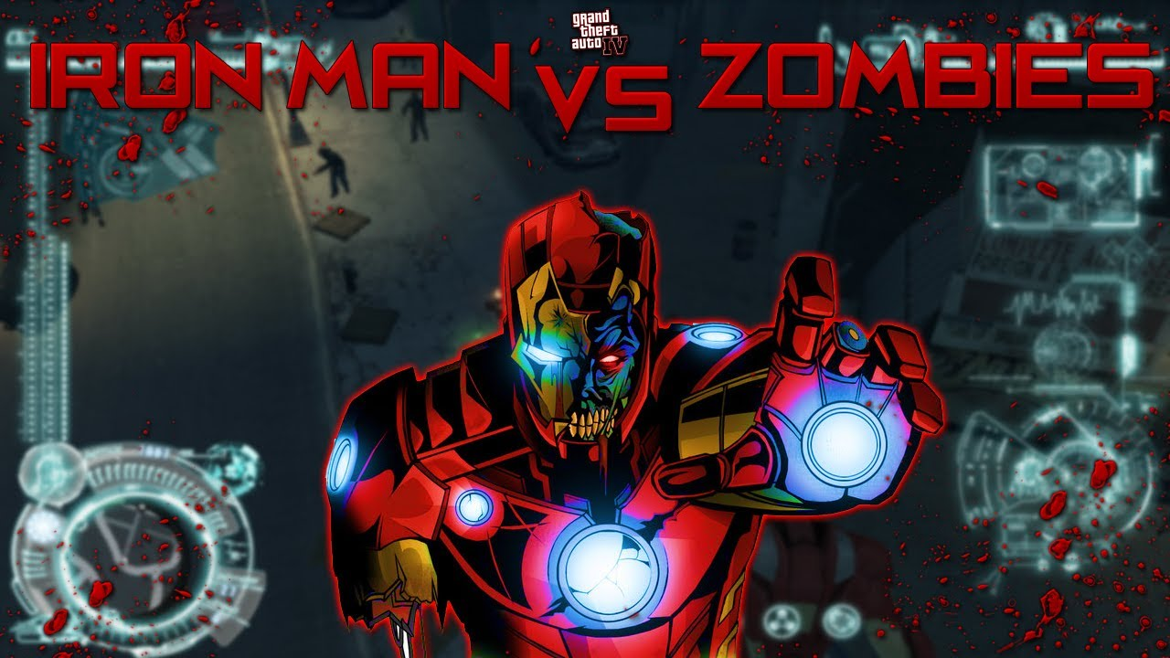 Iron Man vs The Zombie Apocalypse! (GTA 4 Mod) - YouTube