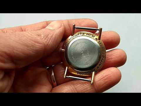 #eBay #Wostok #vintage #watch Vintage Wostok Vostok Watch Gold Plated AU USSR Mechanical Wristwatch